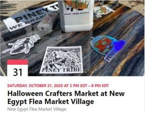 2020-10-31_HalloweenCrafters Market at New EgyptFleaMarketVillage