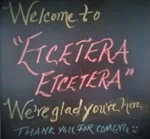 Etcetera Etcetera at the New Egypt Flea Market