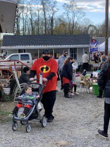 10-31-20 Halloween at the New Egypt Flea Market Village