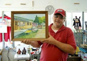 Keith Warner, Owner New Egypt Flea Market