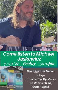 Michael Jaskewicz Appearance- The New Egypt Flea Market, NJ