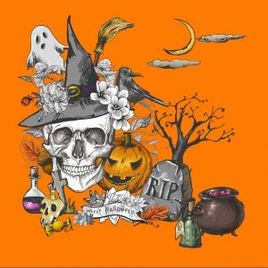 2021-Halloween At the Village