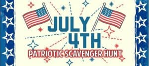 July 4th Patriotic Scavenger Hunt at the New Egypt Flea Market Village